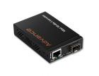 GT-1205A медиа конвертер 1-Port 10/ 100/ 1000Base-T - 2-Port Gigabit SFP Switch/ Redundant Media Converter (GT-1205A)