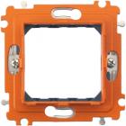 Axolute Суппорт для рамки на 2 модуля, фиксация на винтах Axolute Суппорт для рамки на 2 модуля, фиксация на винтах (H4702)