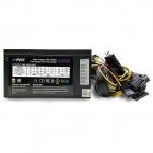 Блок питания для ПК 600 Ватт PSU HIPER HPB-600RGB (ATX 2.31, 600W, ActivePFC, RGB 140mm fan, Black) BOX (HPB-600RGB)