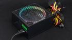 Блок питания для ПК 650 Ватт PSU HIPER HPB-650RGB (ATX 2.31, 650W, ActivePFC, RGB 140mm fan, Black) BOX (HPB-650RGB)