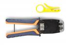 Hyperline HT-500 Инструмент обжимной для RJ-45, RJ-12, профессиональный (HT-500)