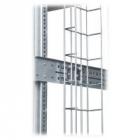 Проволочный кабельный лоток 300x60 для напольных шкафов 42, 45 и 48U, H=1800мм (HVMS-B-1800-300/ 60)