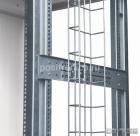 Боковой проволочный держатель кабельных пучков для напольных шкафов, глубина 800мм (HVMS-CH-800)