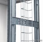 Горизонтальный держатель проволочных и перфорированных кабельных лотков для шкафов RI7 глубиной 800мм, комплект из 2 шт. (HVMS-H-800)