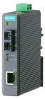 Промышленный конвертер Ethernet 10/ 100BaseTX в 100BaseFX (многомодовое оптоволокно, разъем SC, 1300 нм, до 5 км), в пла .... (IMC-21-M-SC)