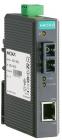 Промышленный конвертер Ethernet 10/ 100BaseTX в 100BaseFX (многомодовое оптоволокно, разъем ST, 1300 нм), в пластиковом .... (IMC-21-M-ST)