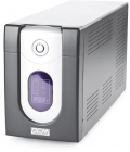 Источник бесперебойного питания Powercom Back-UPS IMPERIAL, Line-Interactive, 1200VA/ 720W, Tower, IEC, LCD, USB (IMD-1200AP)