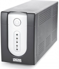 Источник бесперебойного питания Powercom Back-UPS IMPERIAL, Line-Interactive, 1025VA/ 615W, Tower, IEC, USB (IMP-1025AP)