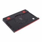 "Подставка для ноутбука STM IP25 Red STM Laptop Cooling IP25 Red (17, 3"""", 1x(150x150), plastic+metal mesh) (IP25 Red)"