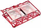 "Подставка для ноутбука STM IP33 Red STM Laptop Cooling IP33 Red (17, 3"""", 2x(120x120), plastic+metal mesh) (IP33 Red)"
