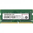Модуль памяти Transcend 16GB JM DDR4 2666Mhz SO-DIMM 2Rx8 1Gx8 CL19 1.2V (JM2666HSB-16G)