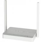 Маршрутизатор Keenetic Lite Интернет-центр с Wi-Fi N300, усилителями приема, управляемым коммутатором и переключателем р .... (KEENETIC LITE (KN-1311))