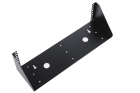Кронштейн телекоммуникационный настенный вертикальный 4U, цвет черный (КНО-В-4U-9005) (КНО-В-4U-9005)