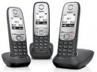 Беспроводной телефон dect Gigaset A415 TRIO (L36852-H2505-S311)