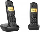 Беспроводной телефон GIGASET A170 DUO black (L36852-H2802-S301)