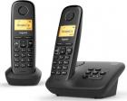 Беспроводной телефон GIGASET A270 DUO black (L36852-H2812-S301)