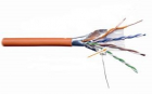 Кабель LANMASTER патч-кордовый FTP, 4x2, кат 5E, 100Mhz, LSZH, оранжевый, 305 м (LAN-5EFTP-PT-LSZH)