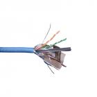 Кабель LANMASTER FTP, 4 пары, кат. 6, с перегородкой, 250Mhz, PVC, синий, 305 м (LAN-6EFTP-BL)