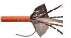 Кабель LANMASTER UTP, 4 пары, кат. 6, с перегородкой, 550Mhz, LSZH, 305 м, оранжевый (LAN-6EUTP-LSZH)