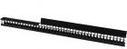 Органайзер 42U глубиной 149 мм, для шкафов LANMASTER DCS шириной 800 мм, 2 шт. в компл., черный (LAN-DC-CB-42UX8-VO15) (LAN-DC-CB-42UX8-VO15)