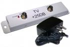 Усилитель TV-сигнала, 25 dB (LAN-HCS-TVSA25)