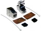 Модуль Keystone, RJ45, кат.6A, STP, 180 градусов (LAN-OK45S6A/ 180) (LAN-OK45S6A/ 180)