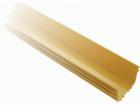 Прямая секция оптического лотка, 100x120 мм, 2 метра, желтая (LAN-OT100X120)
