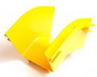 Внешний изгиб 45° оптического лотка 120 мм, желтый (LAN-OT120-EC45)