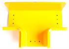Т-соединитель оптического лотка 120 мм, желтый (LAN-OT120-ET)