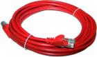 Патч-корд LANMASTER LSZH UTP кат.5e, 0.5 м, красный (LAN-PC45/ U5E-0.5-RD)