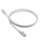 Патч-корд LANMASTER LSZH UTP кат.6, 0.5 м, белый (LAN-PC45/ U6-0.5-WH)