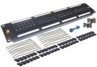 Патч-панель LANMASTER 48 портов, UTP, кат.5E, 2U (LAN-PPL48U5E) (LAN-PPL48U5E)
