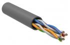 ITK Витая пара U/ UTP кат.5E 4х2х24AWG PVC серый (100м) (LC1-C5E04-111-100)