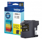 Тонер струйный Brother LC665XLC желтый (1200стр.) для Brother MFC-J2320/ J2720 (LC665XLY) (LC665XLY)