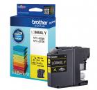 Тонер струйный Brother LC665XLC желтый (1200стр.) для Brother MFC-J2320/ J2720 (LC665XLY)