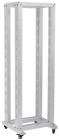 """ITK 19"""" двухрамная стойка, 42U, 600x600, на роликах, серая (LF35-42U66-2R) (LF35-42U66-2R)"""