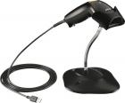 Сканер шк zebra LS1203 Black with Stand USB Kit - EMEA: LS1203-CR10007R Scanner, CBA-U01-S07ZAR USB Cable, 20-73951-07R  .... (LS1203-7AZU0100SR)