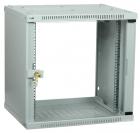 Шкаф LINEA WE 9U 550x350мм дверь стекло серый Шкаф LINEA WE 9U 550x350мм дверь стекло серый (LWE3-09U53-GF)