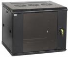 Шкаф LINEA W 15U 600x450 мм дверь стекло, RAL9005 Шкаф LINEA W 15U 600x450 мм дверь стекло, RAL9005 (LWR5-15U64-GF)