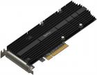Адаптер Synology M.2 SSD-NVME adapter, PCIe 3.0x8, M.2 22110/ 2080 (M2D20)