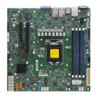 MB Single Socket LGA 1151/ Up to 128GB/ 1 PCI-E 3.0 x8, 1 PCI-E 3.0 x8/ Dual GbE LAN/ 8 SATA3/ 2 SuperDOM/ 2x M.2 NGFF (MBD-X11SCH-F-O)