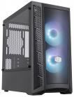 Корпус без блока питания Cooler Master MasterBox MB311L, 2xUSB3.0, 2x120 ARGB Fan, w/ o PSU, Black, mATX (MCB-B311L-KGNN-S01)