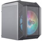Корпус без БП Cooler Master MasterCase H100 Mesh, USB3.0x2, 1x200 ARGBFan, 1x RGB Controller, Black-Iron Grey, mITX, w/ .... (MCM-H100-KANN-S01)