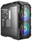 Корпус Cooler Master MasterCase H500M, USB3.0x4, USB3.1(Type-C)x1, 2x200RGBFan, 1x140Fan, Iron Grey, Full Tower, w/ o PSU (MCM-H500M-IHNN-S00)