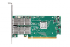 Адаптер Mellanox ConnectX®-4 VPI adapter card, FDR IB (56Gb/ s) and 40/ 56GbE, dual-port QSFP28, PCIe3.0 x8, tall bracke .... (MCX454A-FCAT)