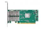 Адаптер Mellanox ConnectX®-4 VPI adapter card, FDR IB (56Gb/ s) and 40/ 56GbE, dual-port QSFP28, PCIe3.0 x8, tall bracke .... (MCX454A-FCAT)