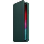 Чехол для iPhone XS Max iPhone XS Max Leather Folio - Forest Green (MRX42ZM/ A)