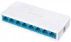 Mercusys MS108 8-портовый 10/ 100 Мбит/ с настольный коммутатор, 8 портов RJ45 10/ 100 Мбит/ с, пластиковый корпус (MS108)