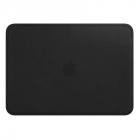 Чехол для MacBook Leather Sleeve for 12-inch MacBook - Black (MTEG2ZM/ A)