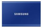 Твердотельный накопитель Samsung SSD 1TB T7 Touch, USB Type-C, R/ W 1000/ 1050MB/ s, Blue (MU-PC1T0H/ WW)